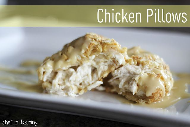 Chicken Pillows!.... Such an EASY dinner to make and one your whole