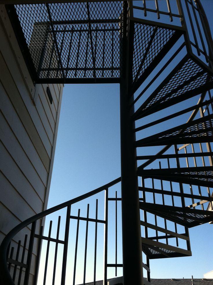 Best Spiral Stair To Roof Deck Spiral Stairs Architecture 400 x 300