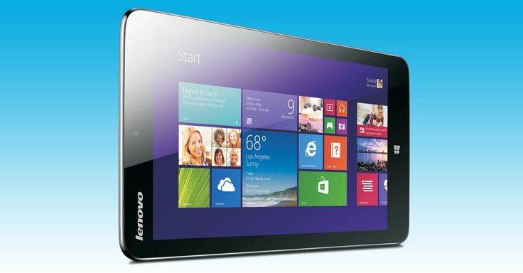 Lenovo Unveils Its First 8-Inch Windows 8.1 Tablet