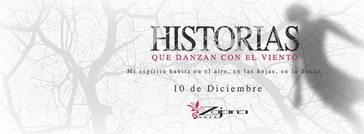 Obra Historias que danzan con el viento. Zajana Danza Design: Nicolás Altamar