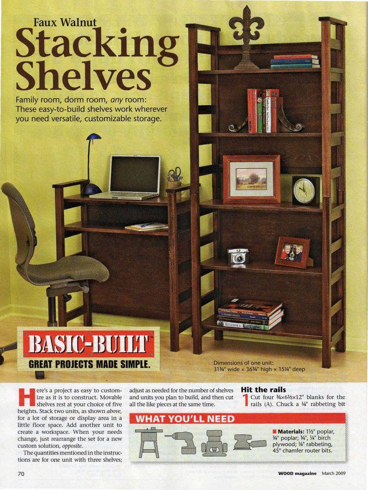 Stacking Shelves plan