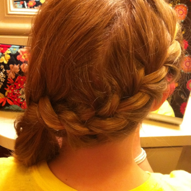 Wrap braid and curl | Hair / Make Up / Beauty | Pinterest