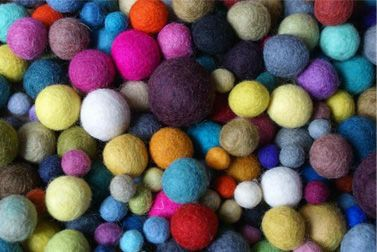 SALE FELT balls 2cm 100 pieces BEST price
