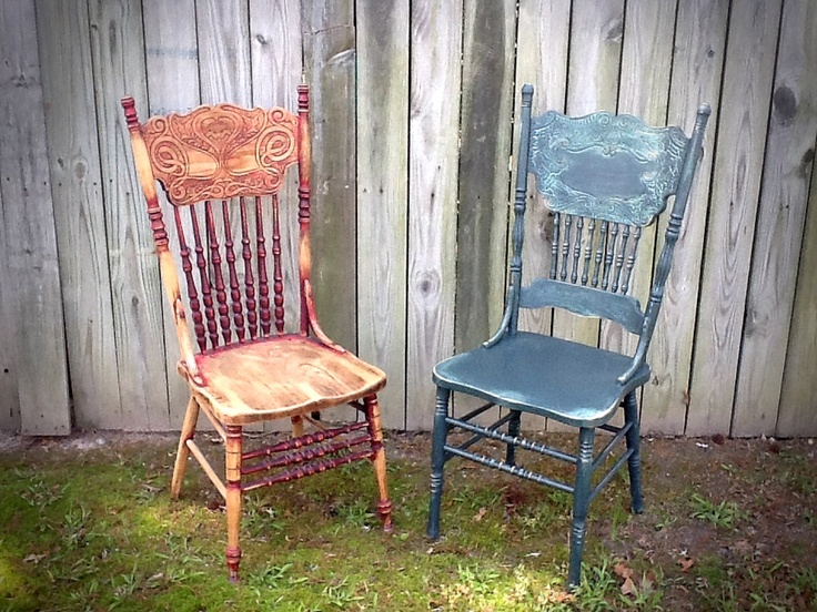 25 Best Ideas About Old Wooden Chairs On Pinterest Funky Painted Furniture Modge Podge Table