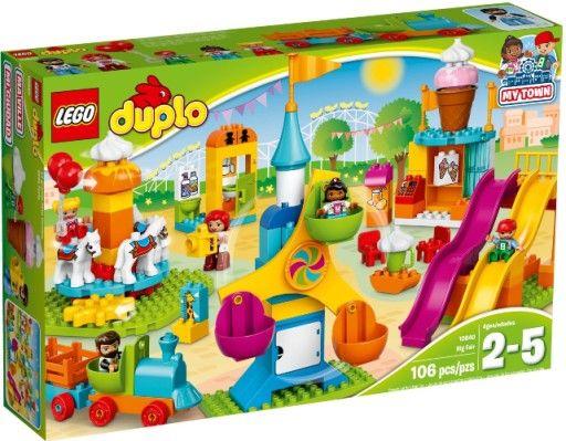 Lego Duplo Duze Wesole Miasteczko 10840 Lego Duplo Town Lego Duplo Sets Lego Duplo