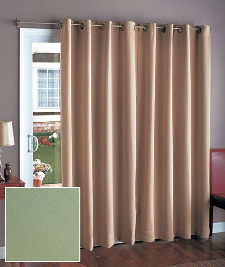 1000 ideas about sliding door curtains on pinterest