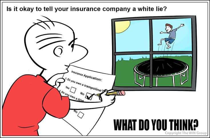 What do you think? Is it ok to not answer some questions accurately on your insurance application?