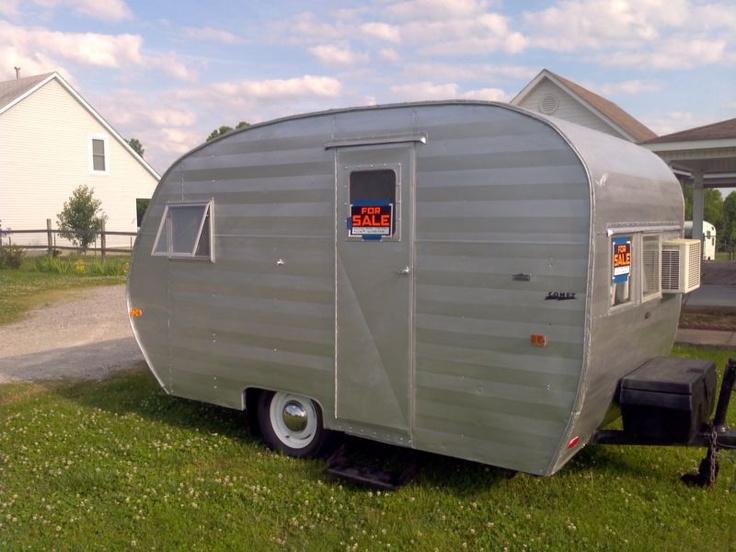 Rare 1950 comet vintage camper in rvs campers for Ebay motors car trailers