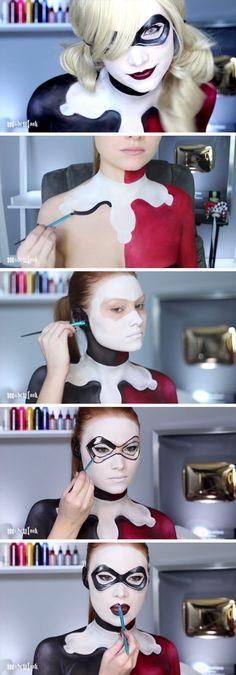 Harley Quinn Painting.