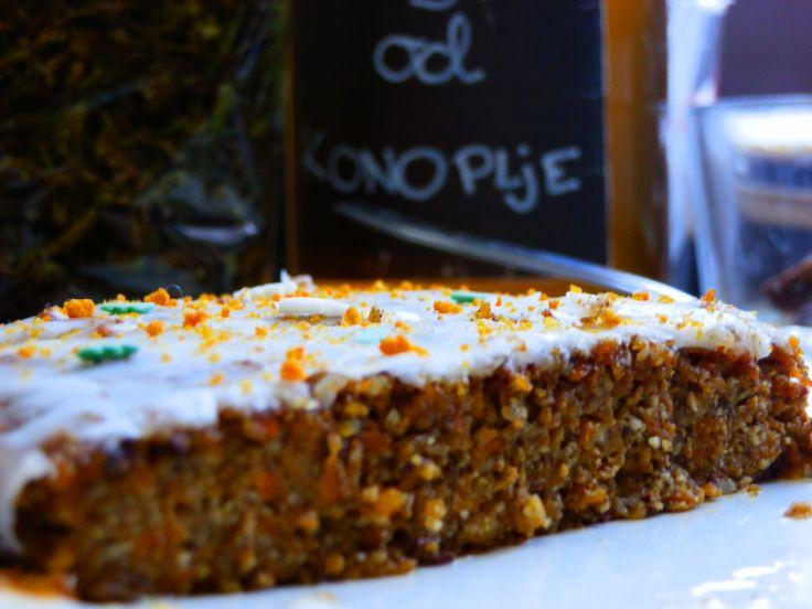 Miss.Ginger Bunny Hemp..ova torta je idealna za sve koji ne smiju konzumirati gluten, za sve koji su dobrovoljno odstranili gluten i za sve ljubitelje zemljanog, prirodnog, drugačijeg. Okus je jedinstven.