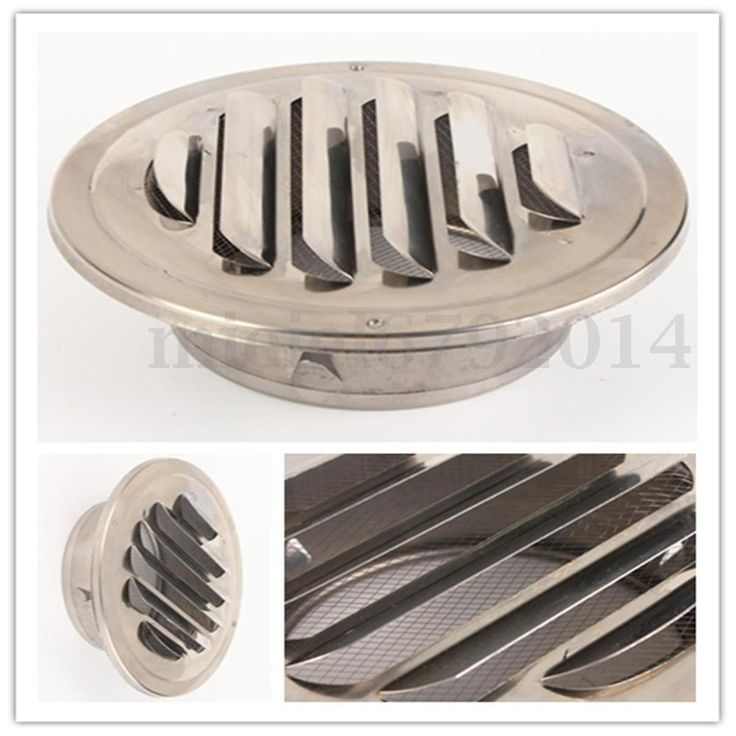 Details about 4''/100mm Stainless Steel Round Circle Air