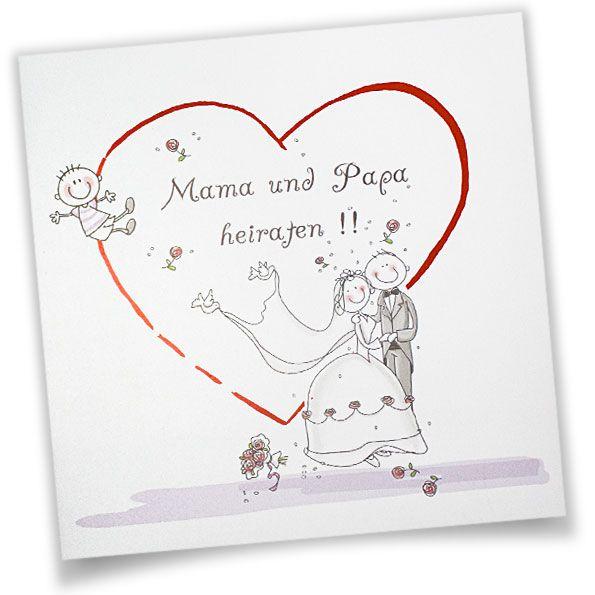 Mama Und Papa Heiraten U2013 Lustige Einladungskarten Zur Hochzeit