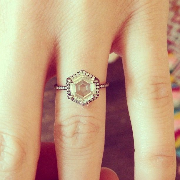 Stone Fox engagement ring, most beautiful ring ever.