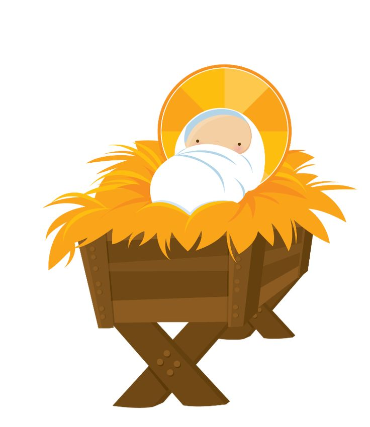 free clipart of baby jesus in a manger - photo #14
