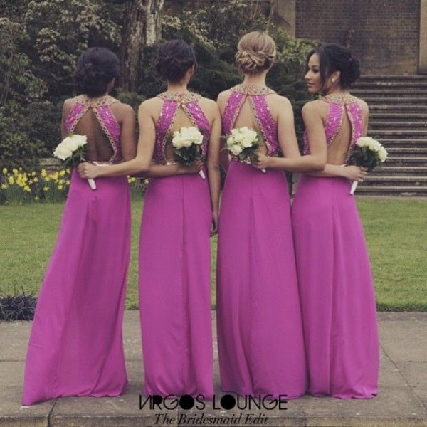 Nigerian Wedding Bridesmaids: 180 Best Bridesmaids Colors & Ideas Images On Pinterest