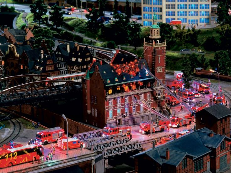 """One of the best places I've been to in Hamburg so far: The """"Minaturwunderland"""": (""""minature wonderland""""), basically one genius who took his playing with trains to a whole new differnt level"""