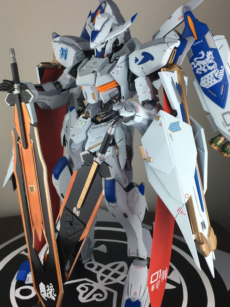 Custom Build: FM 1/100 Gundam Bael [Weaponry Rituals] - Gundam Kits Collection News and Reviews