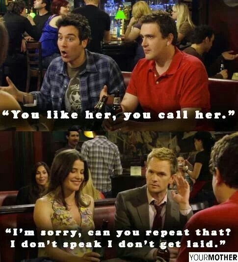 One of the best Barney speeches is in this scene.