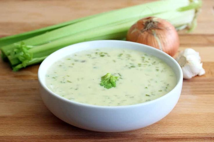 A homemade cream of celery soup that's delicious as a stand-alone soup or used in place of store-bought canned condensed soup.