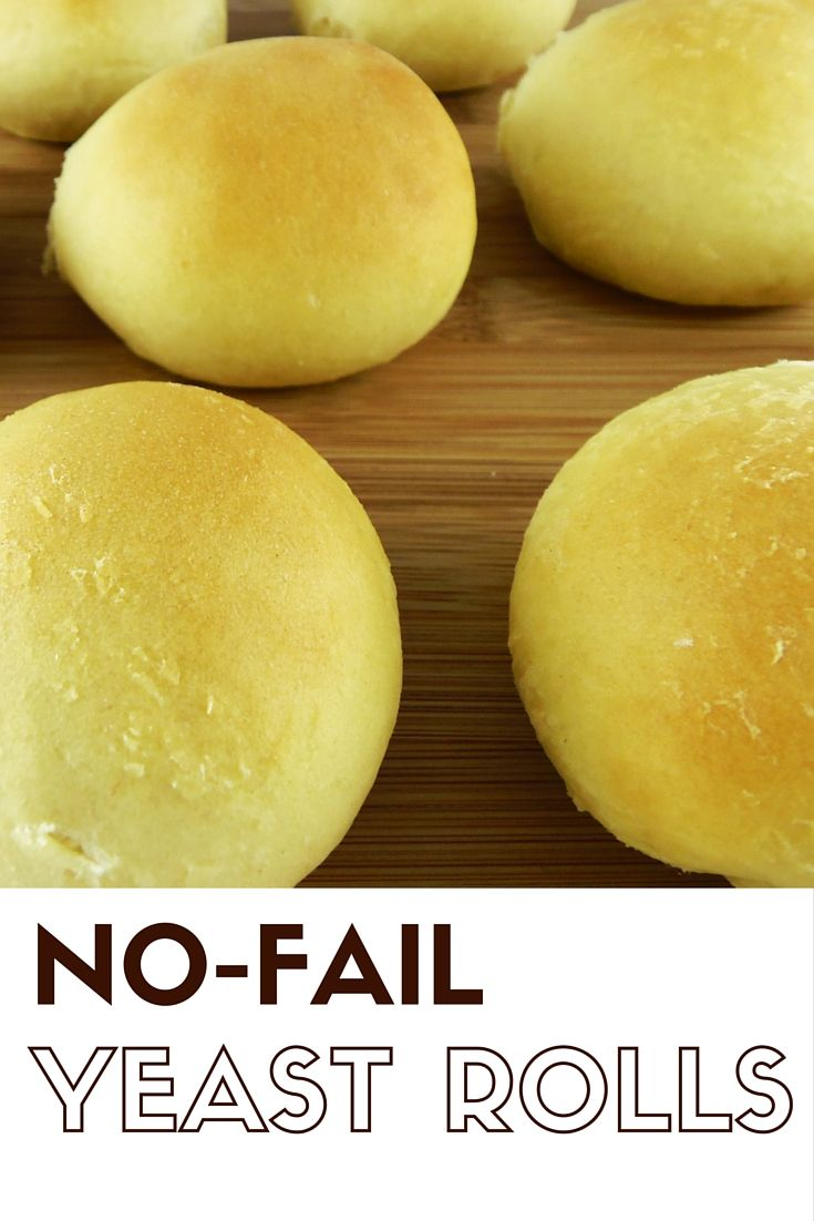 These No-Fail Yeast Rolls are easy to make, and they freeze beautifully. Perfect for holiday dinners or soup nights.
