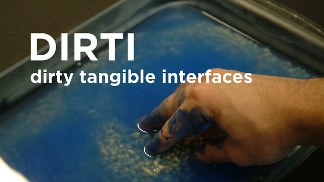 DIRTI - Dirty Tangible Interfaces by Topophonie Group. by Matthieu Savary, Diemo Schwarz, Denis Pellerin