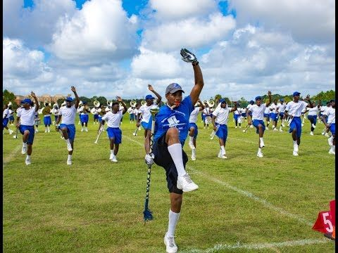 Tennessee State University Marching Band - Southwest High School Performance - YouTube