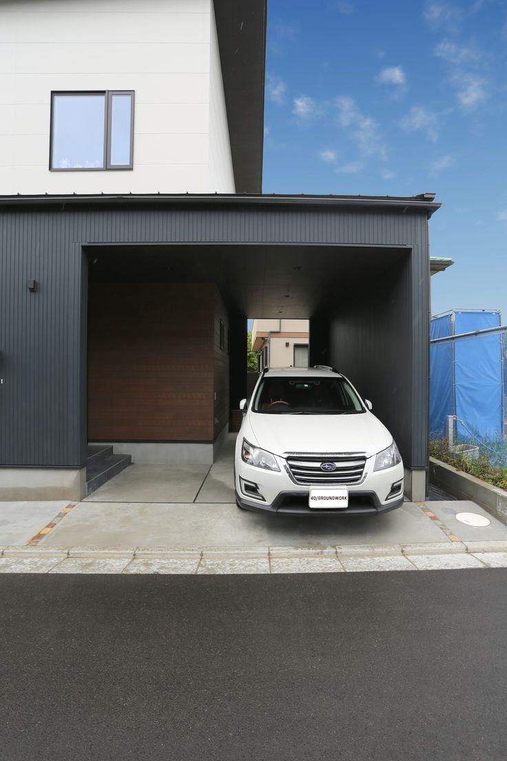 Open Garage デザイン 建築 施工