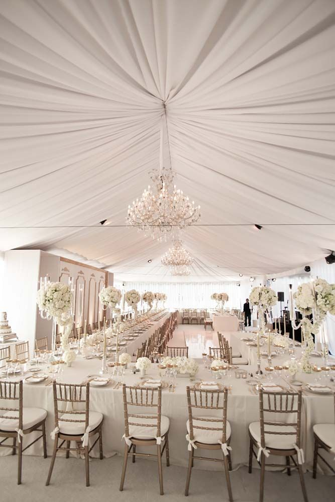 25 best ideas about white wedding decorations on for Wedding decorations home