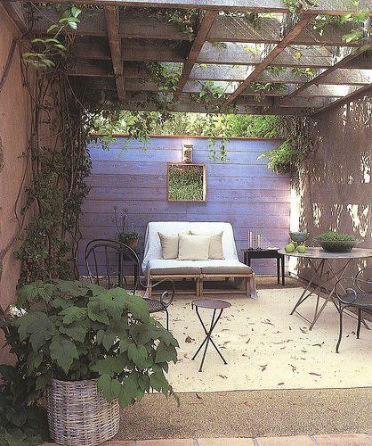 Saladino: Idea, Santa Barbara, Outdoor Rooms, Cars Port, Colors, Patio, Design John, Outdoor Spaces, John Saladino