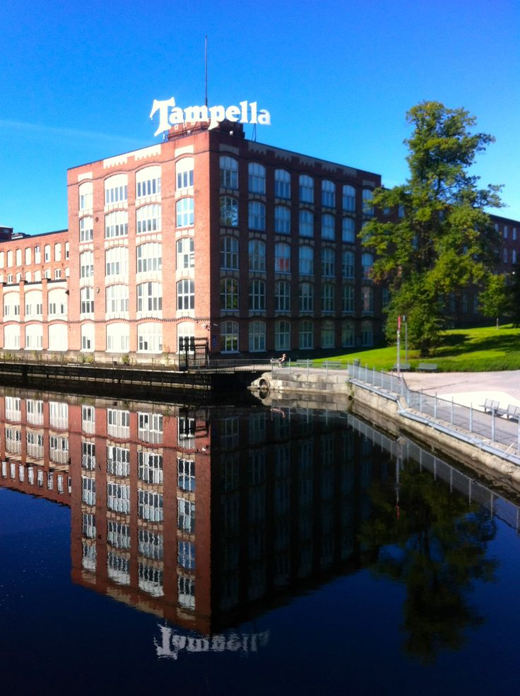 Tampere and old factory building of textile factory Tampella. Plans are to build fancy apartments just by the rapids or new vast museums...which one shall it be?