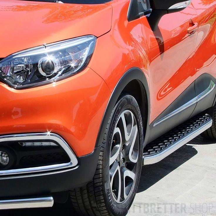 Trittbretter für Renault Captur