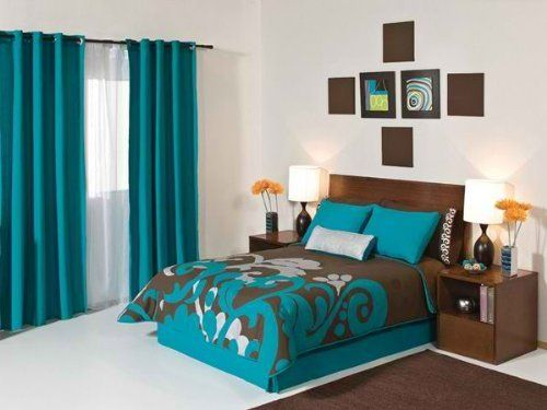 17 best images about turquoise bedroom on pinterest turquoise brown bedding and turquoise. Black Bedroom Furniture Sets. Home Design Ideas