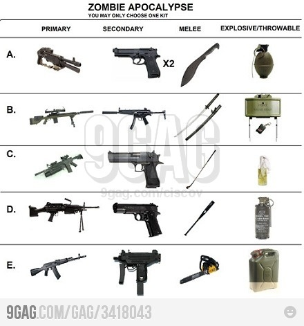 pick your class mine is b cuz im a ninja zombie attack letter b and business. Black Bedroom Furniture Sets. Home Design Ideas