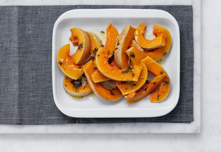 Cooking Spicy honey pumpkin with olive oil with the My AEG app!