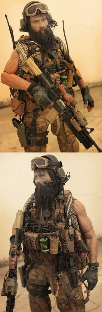 1/6 SCALE AMAZING CUSTOM_COMBINED JOINT SPECIAL OPERATION TASK FORCES - AFGHANISTAN