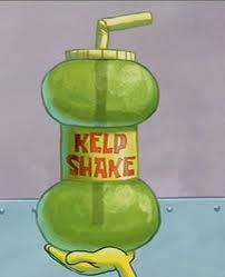 LOL, list of foods in Spongebob episodes