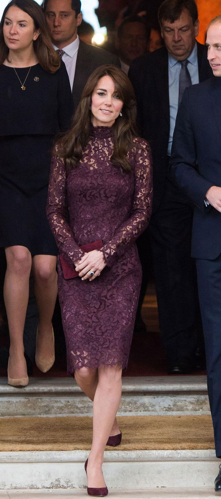 More perfection from Kate Middleton, who stepped out at Lancaster House today in…