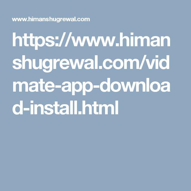 https://www.himanshugrewal.com/vidmate-app-download-install.html