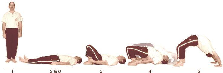 12. Paathi Chakra Asanam (Half Wheel Pose)