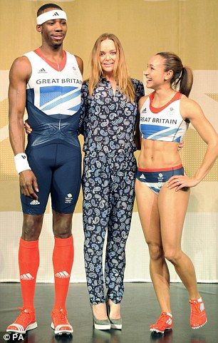 Great kits from Stella McCartney & Addidas for the Brits Olympics 2012!