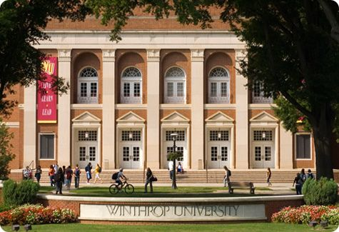 Winthrop University, Rock Hill, SC - Bachelors in Special Education from here