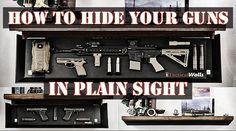Hidden Gun Storage In Plain Sight