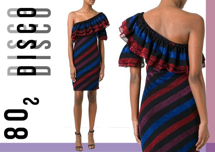 TATs Summer Dress Guide:  Trend anni 80 con abito di Diesel.