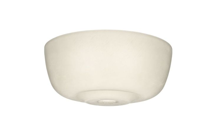 Casablanca 99059 Cased White Transitional Glass Bowl for 99023 Cased White Ceiling Fan Accessories Light Kit Accessories Shades