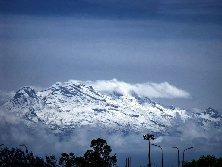 Iztaccihuatl ('white woman' in Nahuatl; elevation 5,230 m/17,160 ft) is a dormant volcanic mountain situated between the State of Mexico and Puebla. It is popularly called 'the sleeping woman'. Iztaccihuatl is a princess in Aztec mythology who was in love with the warrior Popocatépetl. Her father promised that she would marry him if he returned victorious from war. Before he returned, a jealous rival told her that Popocatépetl was killed in battle, and she died from grief. On his return...