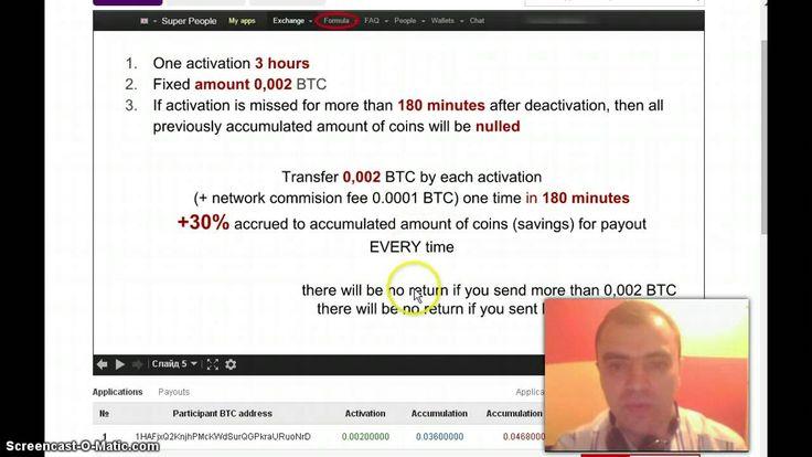 Mining bitcoin SPPL