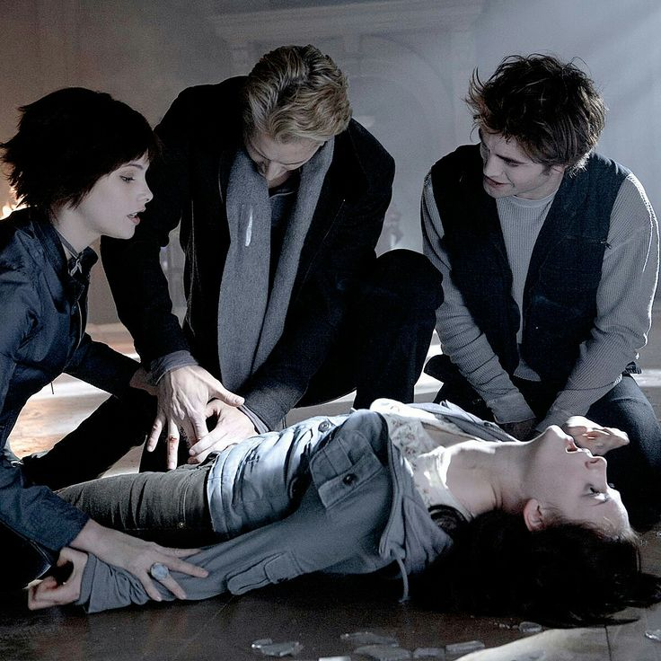 The Twilight Saga Featuring Edward, Bella, Alice And Carlisle....