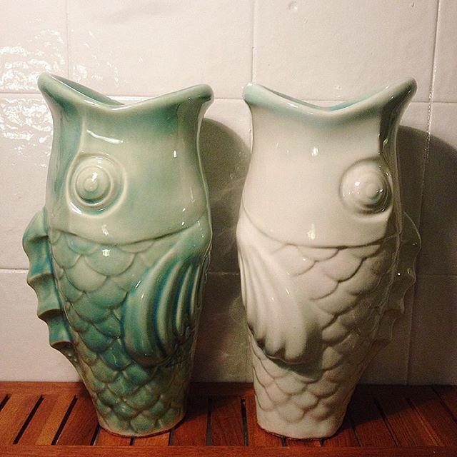 Carpas porcelana arobe cer mica decoraci n con - Ceramica decoracion ...