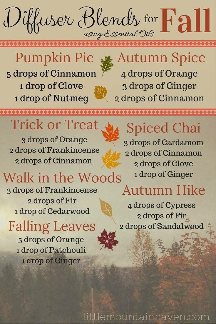 Oil blends for fall