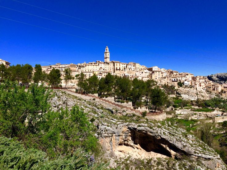 Bocairent medieval town inland #valencia #spain discover this gemm and the sorroundig area full of mediterranean forest and wildlife.